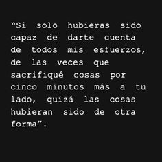 Sad Love, Love Is Sweet, True Quotes, Words Quotes, Favorite Quotes, Best Quotes, Quotes En Espanol, Dear Crush, Frases Tumblr