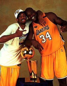 Kobe Bryant & Shaq