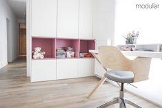 Beton i drewno, projekt Modullar  - PLN Design