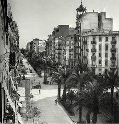 Avenida del Antiguo Reino de Valencia. Años 30