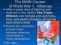 The Triple Entente was the military alliance formed between Russia ...