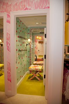 Phipps Plaza - Atlanta, GA Retail Store - Augusta inspired dressing room!  Join us for our Grand Opening at Phipps Plaza on June 9th and 10th!