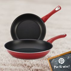 PIN TO WIN: Farberware® New Traditions Nonstick Twin Pack Skillet Set