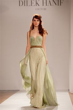 Dilek Hanif Haute Couture Spring Summer 2012 collection
