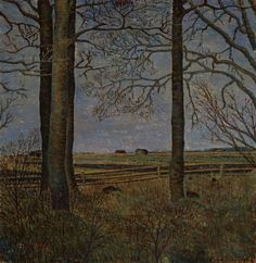 Lampi, Vilho A Village Picture 1934 Finnish National Gallery