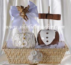 Candy apples-caramel apples-chocolate apples-wedding