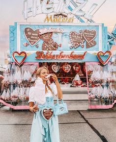 Anzeige / Oktoberfest for a day for 'Breakfast at 💁🏼🍻🎡 Anzeige / I even found myself a Dirndl matching the Tiffany colors. Leonie Hanne, Just Dream, Summer Aesthetic, Beautiful Places To Visit, Germany Travel, Disney Magic, Retro, Aesthetic Pictures, Adventure Travel