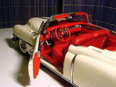Amazing interior. Cadillac Eldorado 1953