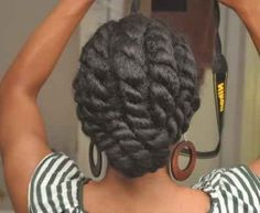 29 Awesome New Ways To Style Your Natural Hair - Chunky flat twist! You are in the right place about pastel hair Here we offer you the most beautifu - Pelo Natural, Natural Hair Tips, Natural Hair Styles, Natural Hair Flat Twist, My Hairstyle, Afro Hairstyles, Black Hairstyles, Hairstyle Ideas, Hairstyles 2016