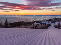 Notre paradis d'hiver! #LeMassif #funbrut : @alain_blanchette Our winter wonderland! #purerawfun #ski #snow #winter #charlevoix #moncharlevoix #landscape by lemassif