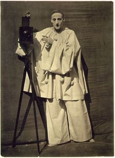 Pierrot the Photographer | Nadar