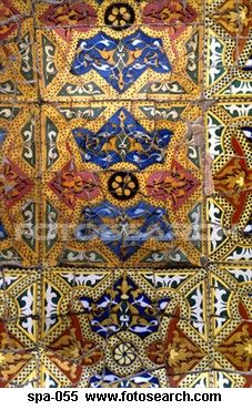 Tiles in Parque Guell Barcelona Spain Stock Photography Spanish Tile, Medical Illustration, Barcelona Spain, Perfect Photo, Royalty Free Photos, Art Images, Bohemian Rug, Tiles, Clip Art