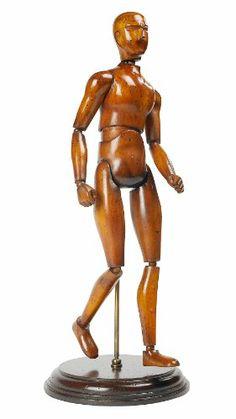 H.eternal Art Mannequin Human Hand Body Drawing Model Sketch Articulated Artist Manikin Action Figure for Painting Cartoon Figures Action Artist Home Office Desk Decoration Brown