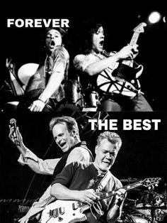 David Lee Roth and Edward Van Halen