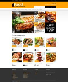 Online Orders of Meals PrestaShop Theme
