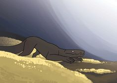 here's my animation for the 2D portion of intro to animation!! this took an entire weekendi love this lizard