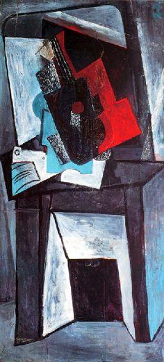 Pablo Picasso - Cheminée, 1916