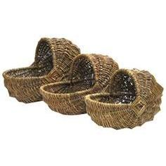 Bassinet Style Willow Baskets sku# 241786