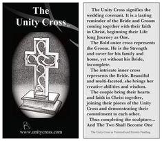 Unity Cross, unity, cross, wedding ceremony, unity candle, sand, unique, wedding