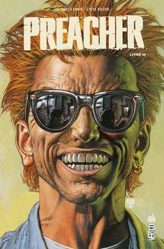 Couverture de Preacher, livre III par Glenn Fabry. (© Vertigo/Urban Comics)