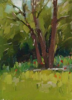 "Daily Paintworks - ""Poppies"" - Original Fine Art for Sale - © Carol Marine"