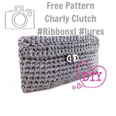 Фотография: Better late then never.. After the busy KREADOE we just found time to put the free download Charly Clutch Pattern online. Go to our homepage click on the clutch and start downloading . Of course your results are more then welcome here xxx