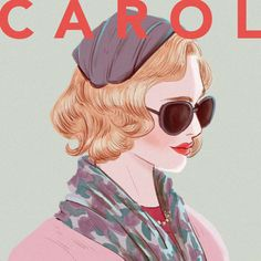 another excellent example of the fan art generated by 2015 film #CAROL with Rooney Mara and Cate Blanchett as Therese and Carol found on carol therese | Tumblr #Carolmovie