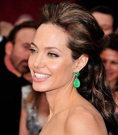 Angelina Jolie #celebrities #celebrityhair #celebritymakeup
