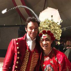 Hugh Jackman and Alex Wong Alex Wong, Adventure Of The Seas, Amazing Songs, The Greatest Showman, Vintage Fashion Photography, Movie Costumes, Kraken, Hugh Jackman, Great Movies