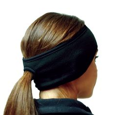 Hot Headz Polarex Fleece Ponytail Ear Warmer Headband - Women's: PolarEx Essentials Fleece Apparel Ponytail Ear Warmers by Hot Headz are specially designed for warmth, comfort and function and has a hole to put your ponytail through. Ski Et Snowboard, I Hate Running, Running In Cold Weather, Winter Running, Ear Warmer Headband, Looks Chic, Running Workouts, Running Gear, Gym Gear