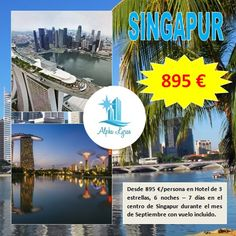 ¿Te preparamos tu viaje a Singapur?, ¡¡estamos deseando cumplir tus deseos viajeros!!
