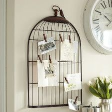 Bird Cage Picture Holder by Birch Lane