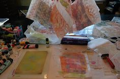 This past week, I had so much fun taking a gelli printing class with Julie Fei-Fan Balzer at A Work Of Heart Studio in San Jose. Below is a...