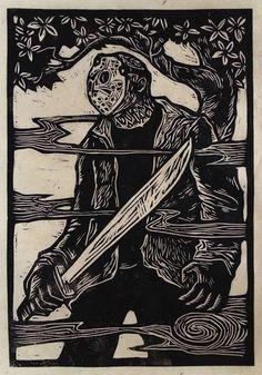 Jason Block Print