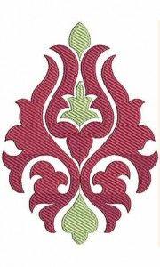 x Inch Applique Embroidery Design Applique Embroidery Designs, Applique Quilts, Embroidery Stitches, Stencil Painting, Fabric Painting, Motif Art Deco, Mandala Drawing, Stencil Designs, Textile Patterns