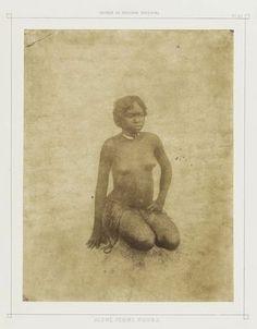 Pierre Trémaux (French, 1818–1895) Young Nubian Woman from Voyages au Soudan Oriental (Paris: Borrani, 1852-58) 1847-54, Salted paper print, (25.5 x 19.8 cm)