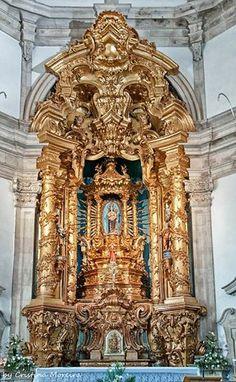 Santuário de Nossa Senhora dos Remédios - Baltar - Lamego Portugal, Iglesias, Lion Sculpture, Statue, Architecture, Interior, Art, Baroque, Cathedrals