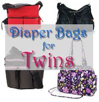 Guide to choosing the best diaper bag for twins