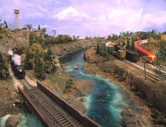 Image Detail for - ... central n scale model railroad of the am express n scale club