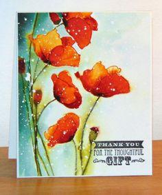 Dernières fleurs de la saison by Micheline Jourdain - Cards and Paper Crafts at Splitcoaststampers