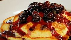 Get this all-star, easy-to-follow Hotcakes with Delicious Blueberry Compote recipe from The Best Thing I Ever Made