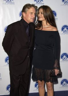 Pin for Later: Relive Nearly 20 Years of Catherine Zeta-Jones and Michael Douglas's Love in the Spotlight July 2002