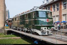 RailPictures.Net Photo: 11407 Mikado 1244 Ae 6/6 at Winterthur, Switzerland by Georg Trüb