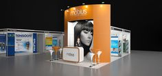 Image 29 möbius 4x3m Modular Exhibition Stand without the custom price tag by Love Displays www.lovedisplays.co.uk