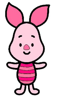 How to Draw piglet from Winnie the pooh step by step Winnie The Pooh Drawing, Disney Winnie The Pooh, Baby Disney, Easy Disney Drawings, Cartoon Drawings, Easy Drawings, Deco Disney, Disney Art, Disney Kunst