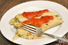 Tomatillo green salsa tamales