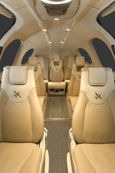 Discover luxurious modes of transport through these PINs. Seize the opportunity to launch a free automated online business now by clicking! Discover planes, cars, boats & other luxury transportation. Start a free automated business now by clicking! Jets Privés De Luxe, Luxury Jets, Luxury Private Jets, Small Private Jets, Private Plane, Personal Jet, Private Jet Interior, Aircraft Interiors, New Class