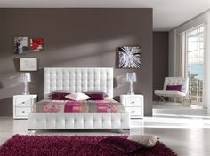 Seng modell OSLO. www.mirame.no #seng #sengegavl #interior #interiør #interiormirame #interiørmirame #interiørpånett #mirameinteriørogdesign #soverom #oslo #nettbutikk #møbler