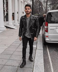 Style Inspiration by Find Your Style With Your Style, Finding Yourself, Bomber Jacket, Leather Jacket, Style Inspiration, Jackets, Instagram, Fashion, Studded Leather Jacket