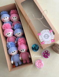 Super Design Ideas for Crochet Amigurumi Dolls Crochet Dolls Free Patterns, Crochet Doll Pattern, Amigurumi Patterns, Amigurumi Doll, Doll Patterns, Loom Knitting, Baby Knitting, Crochet Baby Toys, Crochet Teddy